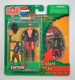 Zartan Spy Troops Mission Disc G.I. Joe Carded Figure & Game