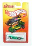 2011 El Rey Green Hot Wheels The Hot Ones Collectible Diecast Car