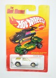 2011 Packin' Pacer White w Arrow Hot Wheels The Hot Ones Collectible Diecast Car