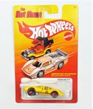 2011 Porsche 917 Yellow Hot Wheels The Hot Ones Collectible Diecast Car