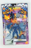 Iceman Crystalline Mutant Armor Series Carded Marvel Toy Biz Action Figure