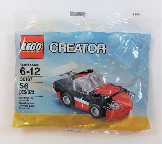 Lego 30187 Creator Fast Car 56 Piece The Lego Movie Building Block Set