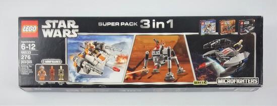 Star Wars Lego 66533 Super Pack 3 In 1 276 Piece Building Block Set