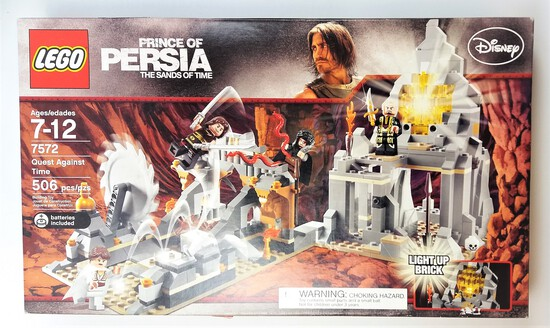Lego 7572 Prince Of Persia Quest Against Time 506 Piece Building Block Set