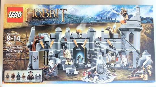 Lego 79014 Lord Of The Rings Dol Goldur Battle 797 Piece Building Block Set
