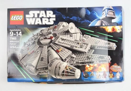 Star Wars Lego 7965 Millennium Falcon BOX ONLY