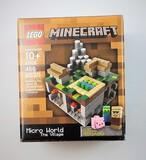 Lego 21105 MineCraft Micro World The Village 466 Piece Building Block Set