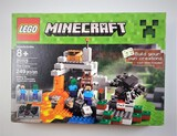 Lego 21113 MineCraft The Cave 249 Piece Building Block Set