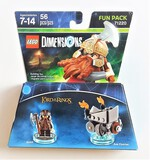 Lego Dimensions 71220 Lord Of The Rings Gimli & Axe Chariot 56 Piece Building Block Set