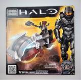 Mega Bloks 96993 Halo Brute Chieftain Charge 72 Piece Building Block Set