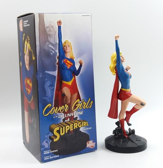 Supergirl Statue 1581/5000 Cover Girls of the DC Universe Adam Hughes Series