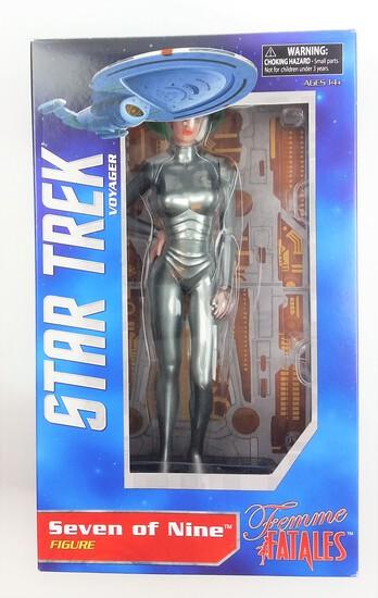 Star Trek Voyager Seven of Nine Femme Fatales PVC Diamond Select Statue