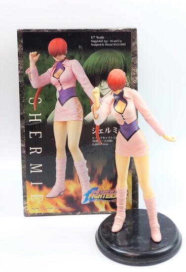 1/7 Scale Shermie King of Fighters '98 Cold Cast Statue