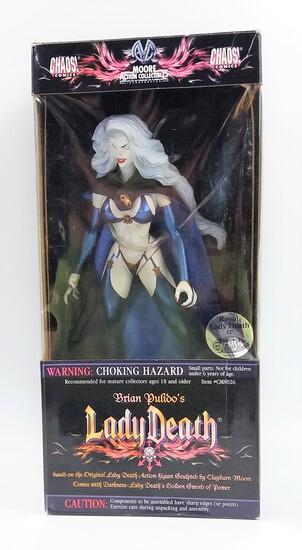 "Royal Lady Death Moore Action Collectibles 12"" Previews Exclusive Vinyl Statue Figure"