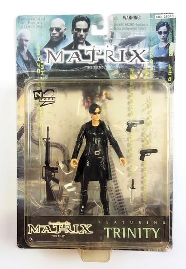 The Matrix Trinity Leather Jacket Variant N2Toys Collectible Action Figure