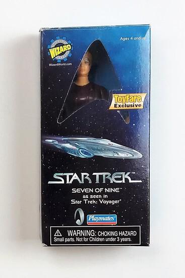 Seven of Nine Star Trek:Voyager 1999 Playmates Toyfare Exclusive Action Figure