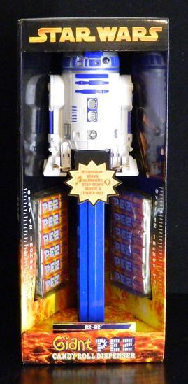 Star Wars R2-D2 Electronic Giant Pez Diespenser