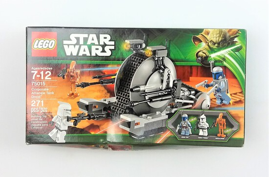 Star Wars Lego 75015 Corporate Alliance Tank Droid BOX ONLY