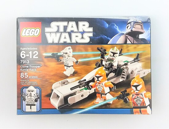 Star Wars Lego 7913 Clone Trooper Battle Pack BOX ONLY