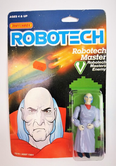 Robotech Master Vintage Carded Action Figure