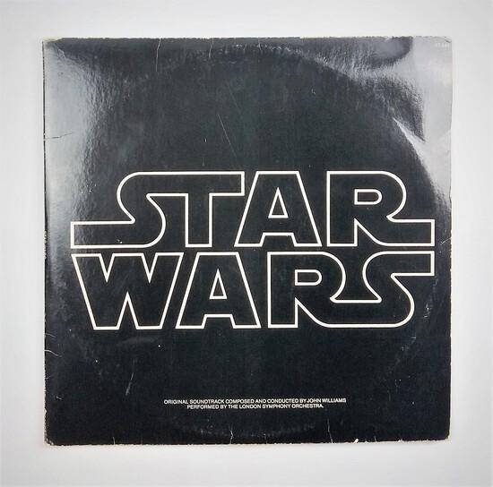 Vintage 1977 Star Wars Original Soundtrack Double Album
