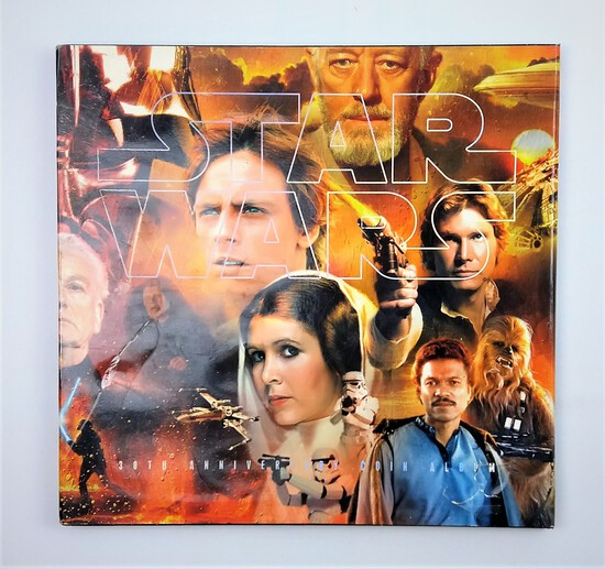 Star Wars 30th Anniversary Coin Album