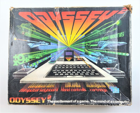 Vintage 1978 Magnavox Odyssey 2 Gaming Console System