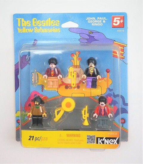 2012 The Beatles Yellow Submarine K'NEX Set 48579
