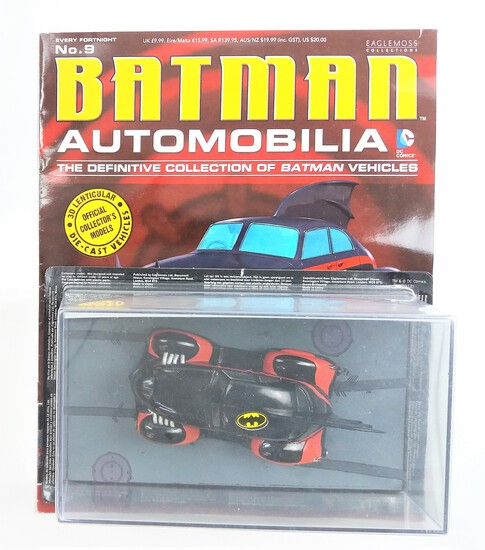 Batman #5 Batman Automobilia Magazine & Diecast Vehicle