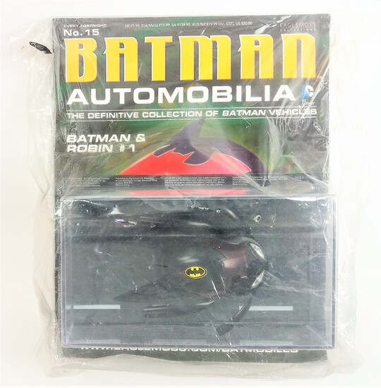 Batman And Robin #1 Batman Automobilia Magazine & Diecast Vehicle