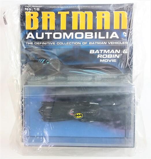Batman And Robin Movie Batman Automobilia Magazine & Diecast Vehicle