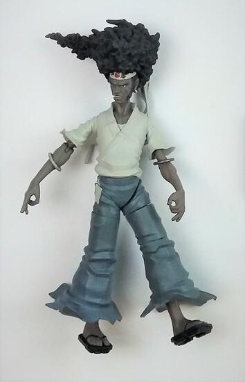 "DC Unlimited Funimation Afro Samurai 7"" Action Figure"