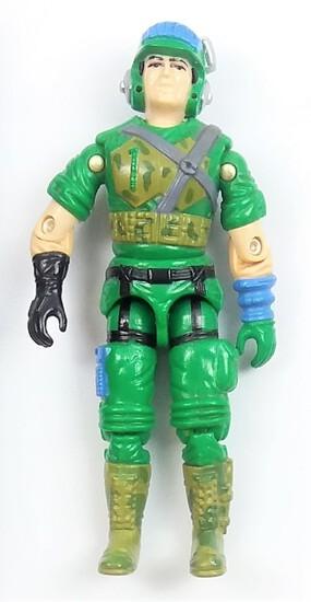 Vintage Blaster G.I. Joe Action Figure