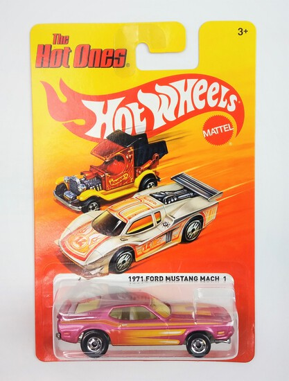 2011 1971 Ford Mustang Mach 1 Hot Wheels The Hot Ones Collectible Diecast Car