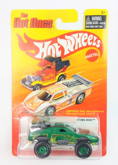 2011 Sting Rod Hot Wheels The Hot Ones Collectible Diecast Car