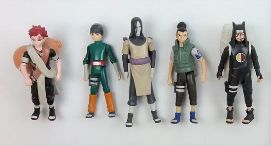 Shonen Jump Naruto Action Figure Grouping