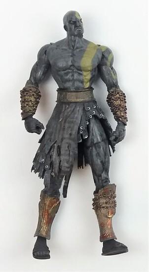 "2007 NECA God Of War II Dark Odyssey Kratos 7"" Action Figure"