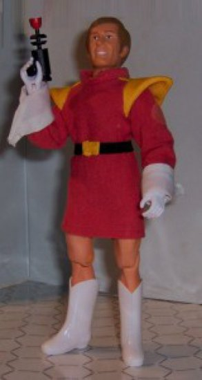 Brikk Mannigan Custom Brick Mantooth Mego Figure