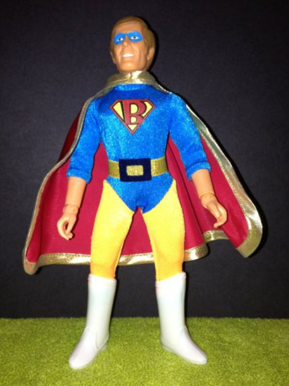 Super Favoloso Custom Brick Mantooth Mego Figure