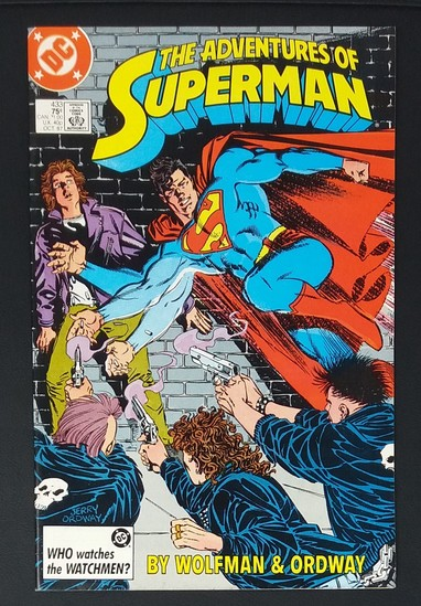 The Adventures of Superman #433