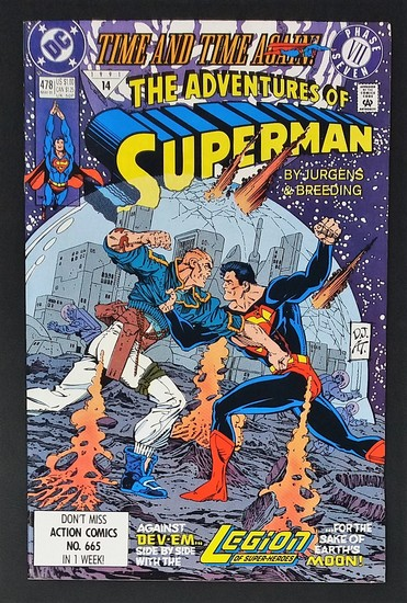 The Adventures of Superman #478