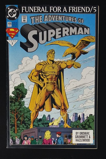 The Adventures of Superman #499A