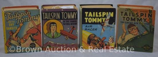 (4) Tailspin Tommy Big Little Books