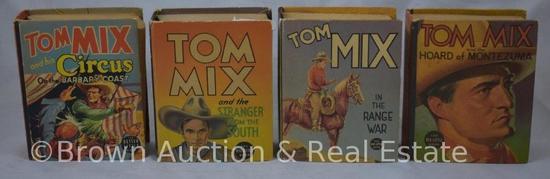 (4) Tom Mix Big Little Books