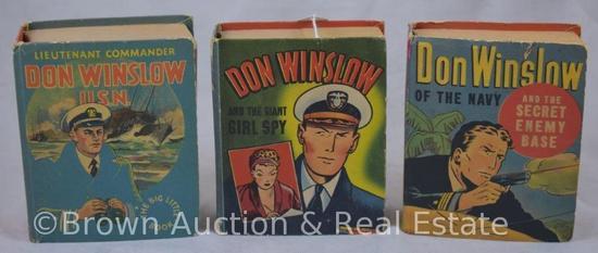 (3) Don Winslow Big Little Books