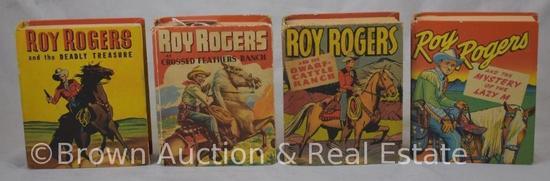 (4) Roy Rogers Big Little Books