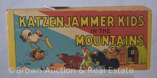 Katzenjammer Kids in the Mountains #1305 Big Little Books, Saalfield publishing