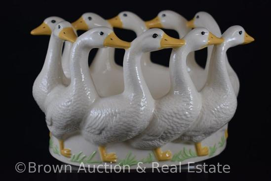 Holland Mold Circle of Geese planter