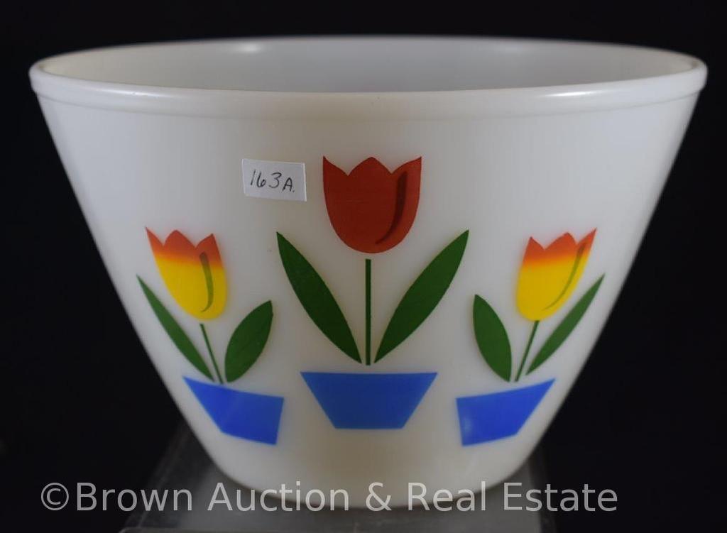 "Fire King Tulip 6""h mixing bowl"
