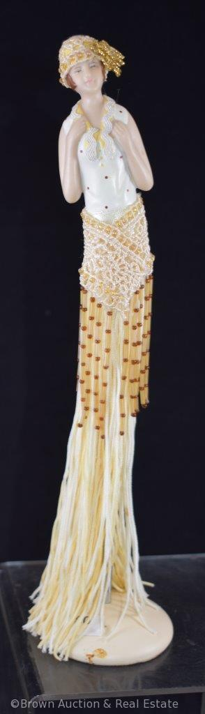 Tassel doll with stand, Contemporary